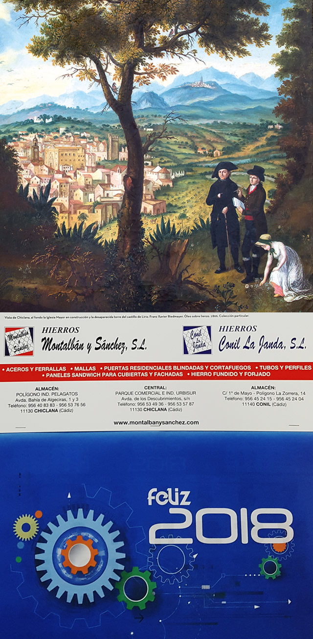 Cuadro Riedamyer, Chiclana 1806